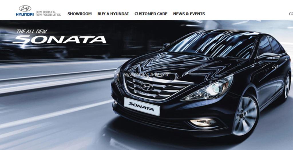 Hyundai Sonata 2012 India New Model Official Details Brochure