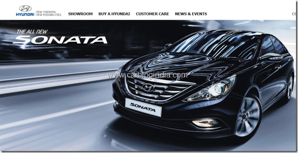 Hyundai Sonata Official Website India