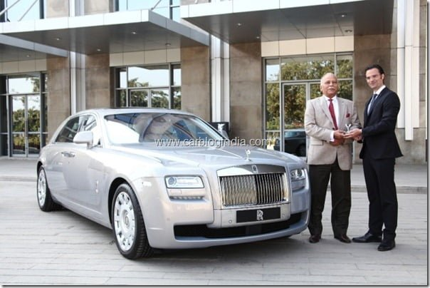 Rolls Royce Dealsehip In Chandigarh India