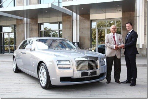 Rolls Royce Dealsehip In Chandigarh India