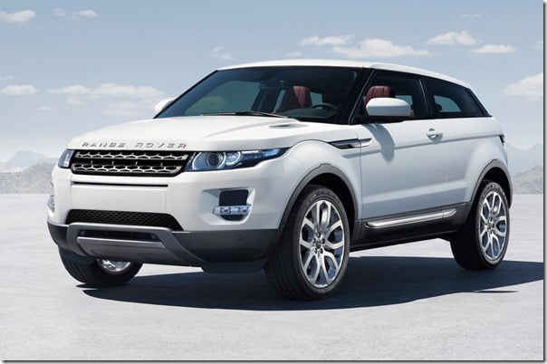 Range Rover Evoque Convertible Concept Model Official Pictures And Details
