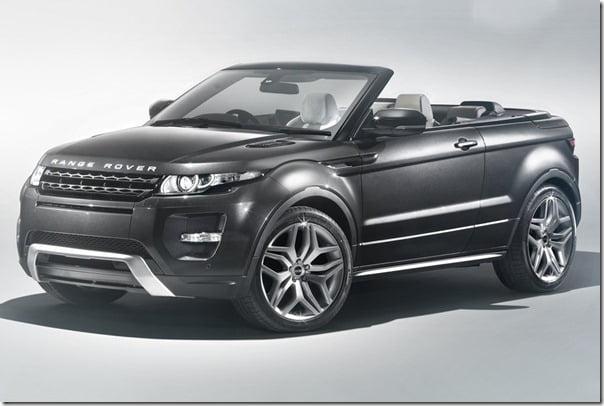 Range Rover Evoque Convertible Compact SUV