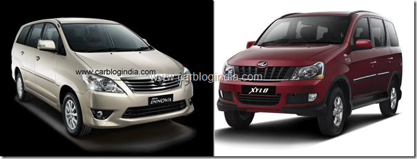 Mahindra Xylo 2012 Vs Toyota Innova 2012