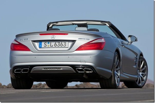2013 Mercedes-Benz SL63 AMG– SL-Class Performance Edition Sports
