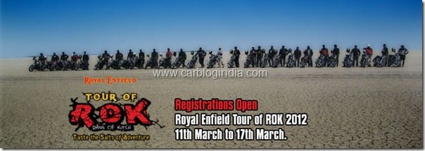 Royal Enfield Tour of ROK 2012