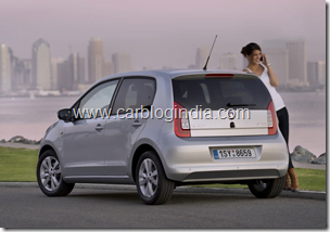 Skoda Citigo India Small Car Official Pictures (14)