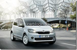 Skoda Citigo India Small Car Official Pictures (2)