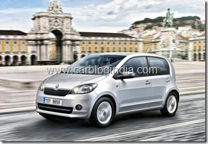 Skoda Citigo India Small Car Official Pictures (3)