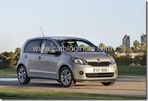 Skoda Citigo India Small Car Official Pictures (4)