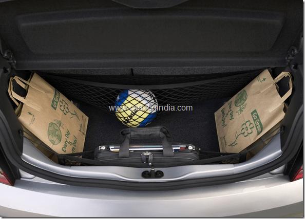 Skoda Citigo Small Car India Boot Space