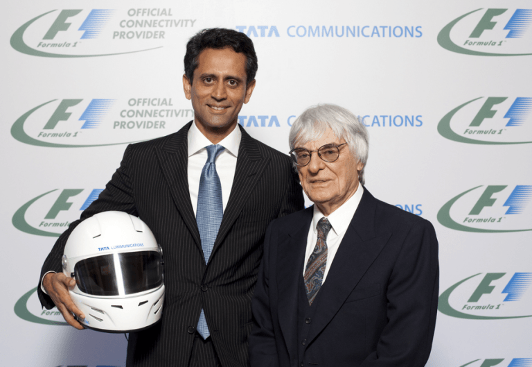 Tata Communications Signs Service Partnership Deal With Formula One