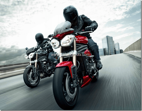 Triumph Motorcycles India Launch In October 2012