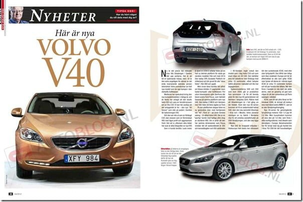 Volvo V40 Luxury Car (3)