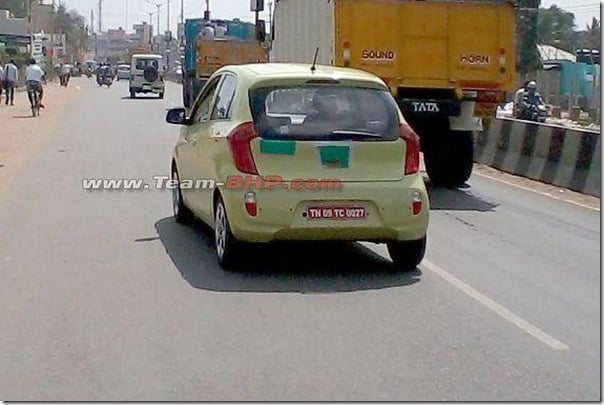 Kia Picanto Hatchback Spied Again In Chennai– Will It Be Launched In India?