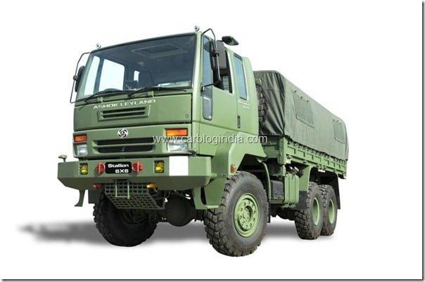 Ashok Leyland Stallion 6x6 picture 02