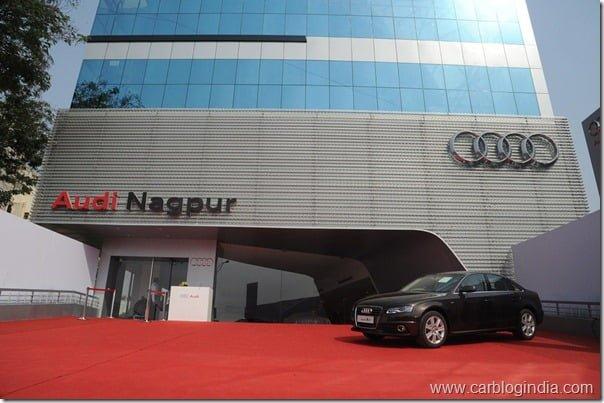 Audi Nagpur Showroom
