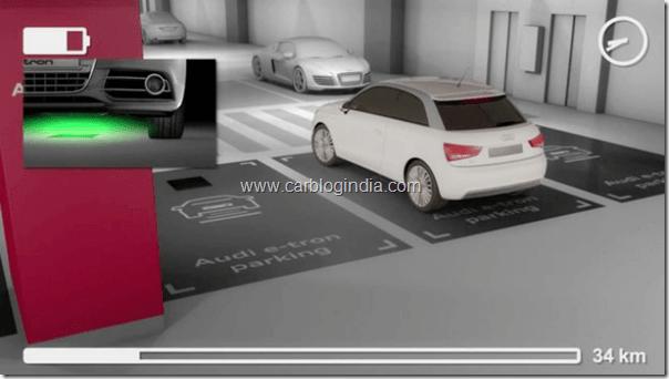 Audi wireless Charging Technology