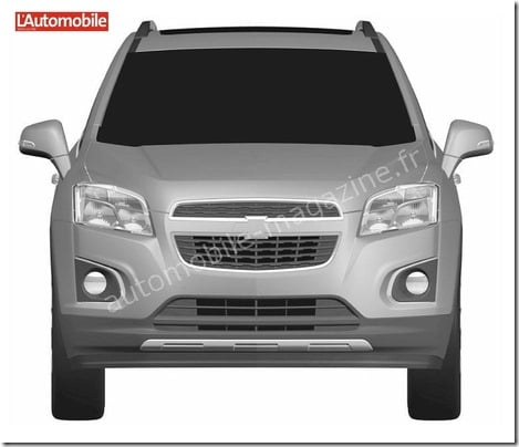 Chevrolet Compact SUV front
