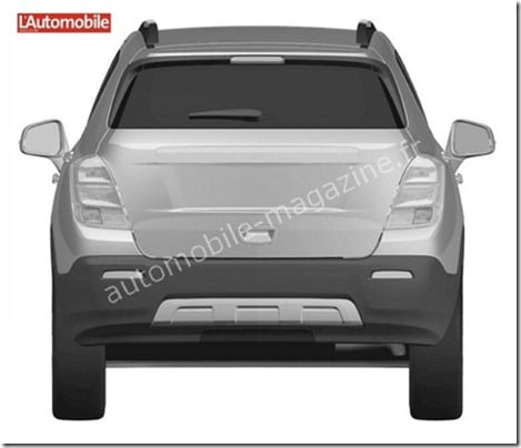 Chevrolet Compact SUV rear