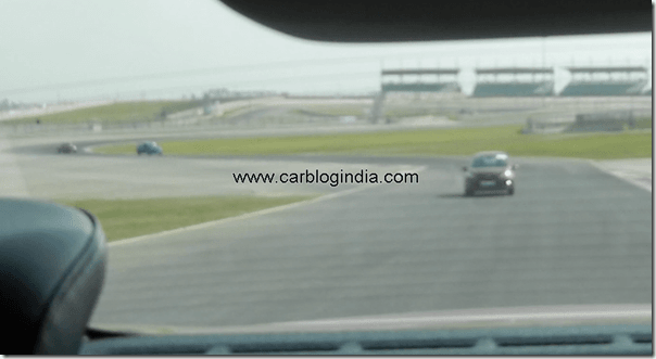 Ford Fiesta 2012 PoweShift Automatic Track Test Drive (12)