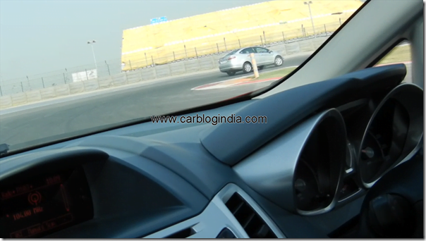 Ford Fiesta 2012 PoweShift Automatic Track Test Drive (4)