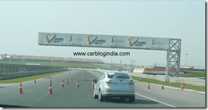 Ford Fiesta 2012 PoweShift Automatic Track Test Drive (8)