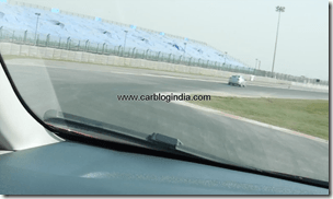 Ford Fiesta 2012 PoweShift Automatic Track Test Drive (9)
