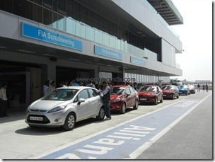 Ford Fiesta 2012 PowerShift Automatic Track Test Drive Review (15)