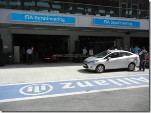 Ford Fiesta 2012 PowerShift Automatic Track Test Drive Review (17)
