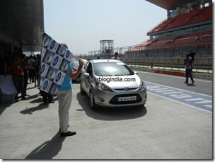 Ford Fiesta 2012 PowerShift Automatic Track Test Drive Review (36)