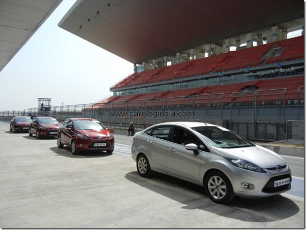 Ford Fiesta 2012 PowerShift Automatic Track Test Drive Review