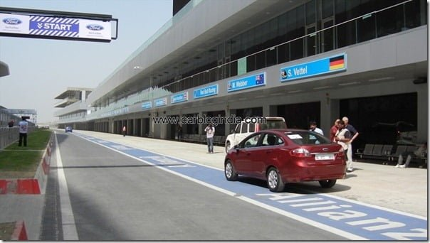 Ford Fiesta 2012 PowerShift Automatic Track Test Drive Review (58)