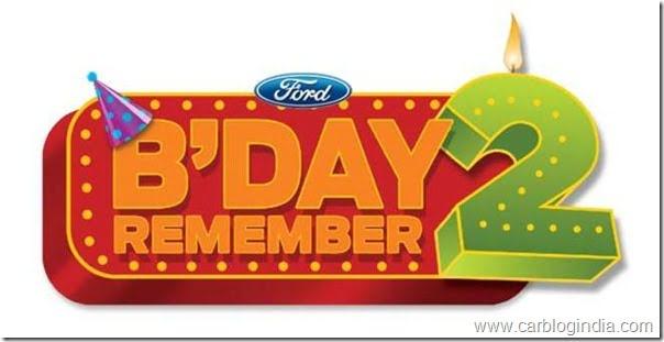 Ford Figo Second Birthday India