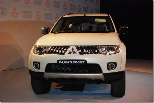 Mitsubishi Pajero Sport India