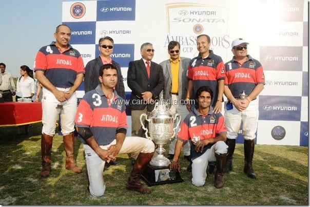 Hyundai Sonata tie-up with Indian Polo Association