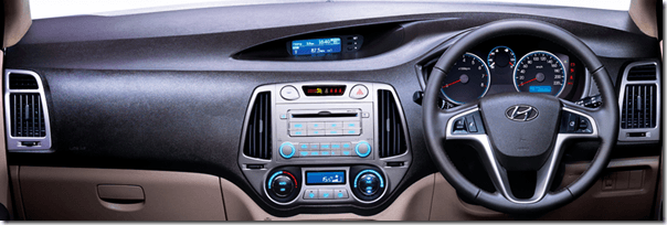 Hyundai i20 Old Model Interiors