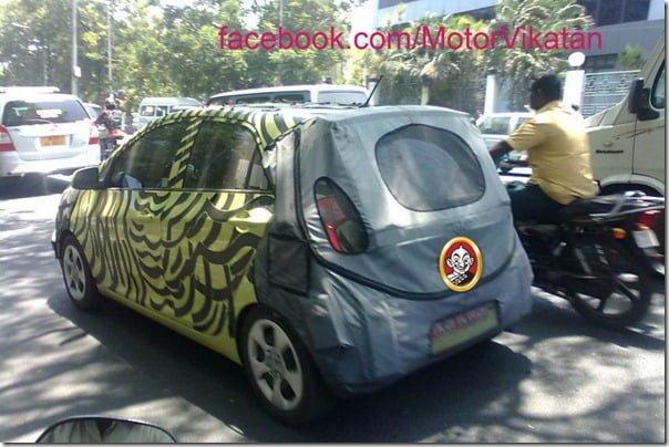 Kia Picanto Test Mule Chennai 1