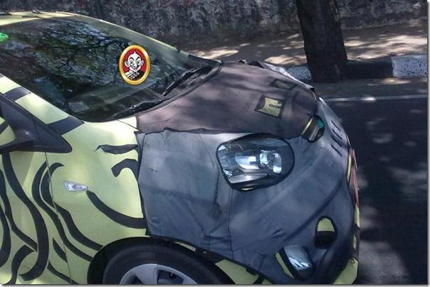 Kia Picanto Test Mule Chennai