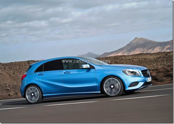 Mercedes Benz A Class Hatchback Produciton Version (10)