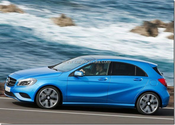 Mercedes Benz A Class Hatchback Produciton Version (11)