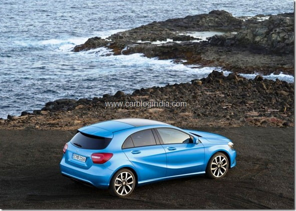 Mercedes Benz A Class Hatchback Produciton Version (12)