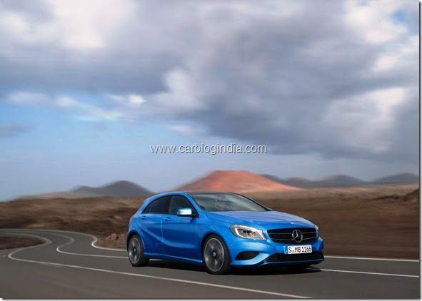 Mercedes Benz A Class Hatchback Produciton Version (1)