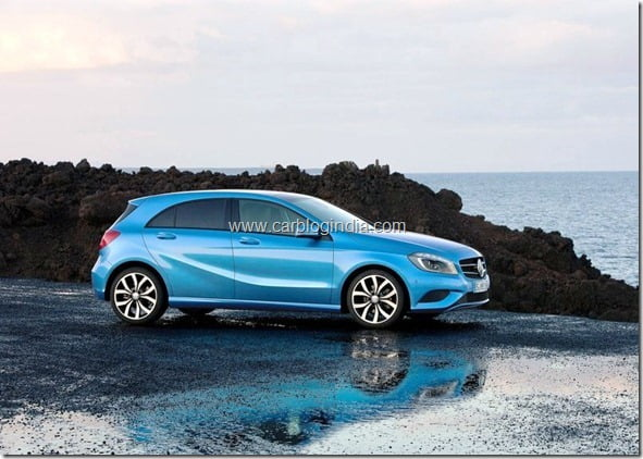 Mercedes Benz A Class Hatchback Produciton Version (2)