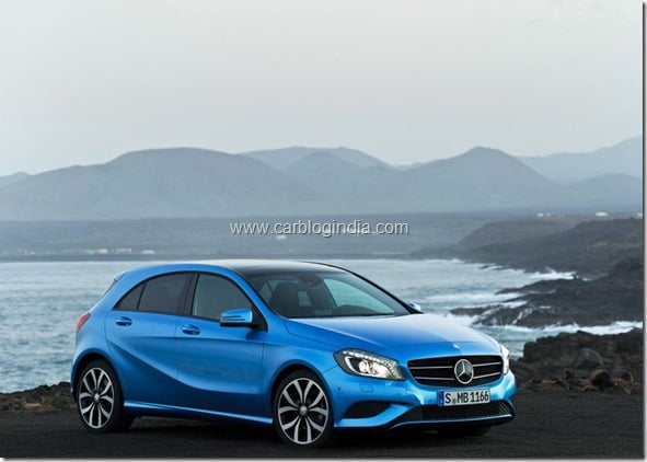Mercedes Benz A Class Hatchback Produciton Version (9)