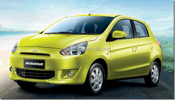Mitsubishi Mirage Global Small Car