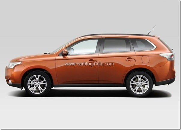 Mitsubishi Outlander 2013 New Model Official Picture (10)