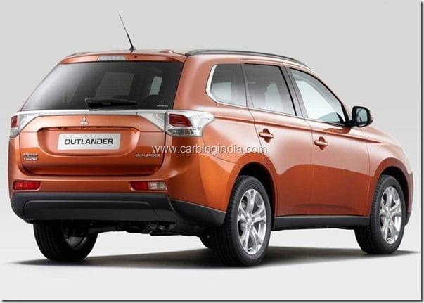 Mitsubishi Outlander 2013 New Model Official Picture (11)
