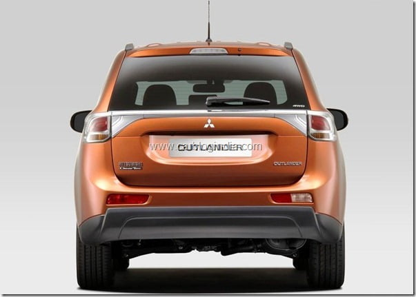Mitsubishi Outlander 2013 New Model Official Picture (2)