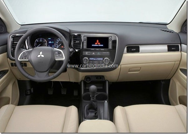Mitsubishi Outlander 2013 New Model Official Picture (3)