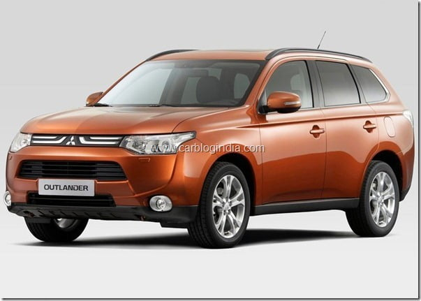 Mitsubishi Outlander 2013 New Model Official Picture (8)